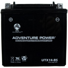 Adventure Power UTX14-BS (YTX14-BS) (12V, 12AH) Motorcycle Battery
