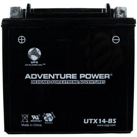 Kawasaki ZX-14, ZX14 Ninja Battery 2006, 2007, 2008, 2009, 2010, 2011 Dry