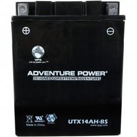 1989 Kawasaki Bayou KLF 300 C1 KLF300-C1 4x4 Dry ATV Battery