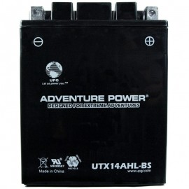 Honda YTX14AHL Dry AGM Motorcycle Replacement Battery