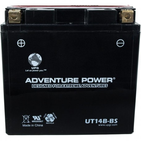 Yamaha GS GT14B-4 Motorcycle Replacement Battery