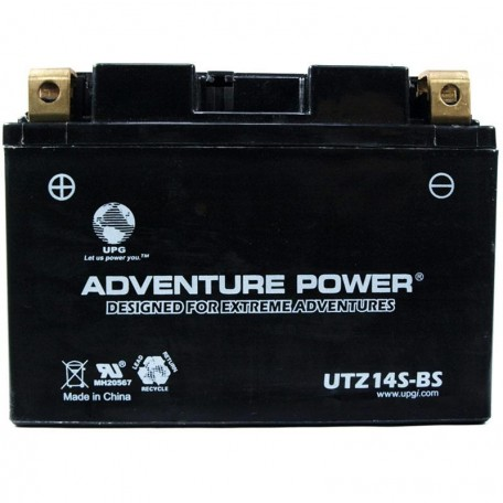 Adventure Power UTZ14S-BS (YTZ14S) (12V, 11.2AH) Motorcycle Battery