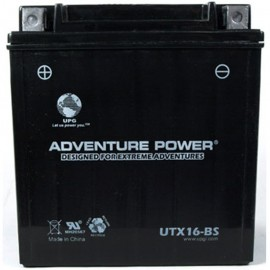 Suzuki LT-F500F  Vinson Manual 4WD Replacement Battery (2003)