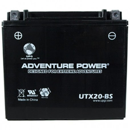 Adventure Power UTX20-BS (YTX20-BS) (12V, 18AH) Motorcycle Battery