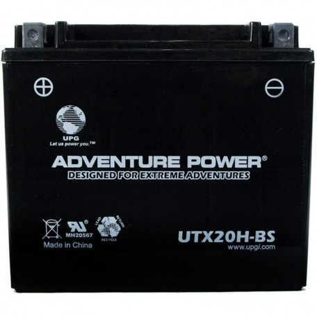 Honda YTX20H-BS Dry AGM Motorcycle Replacement Battery