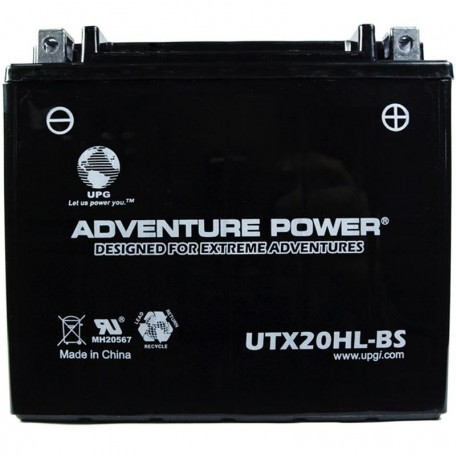 Adventure Power UTX20HL-BS (YTX20HL-BS) (12V, 18AH) Motorcycle Battery