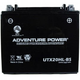 Honda YTX20L-BS Dry AGM Motorcycle Replacement Battery
