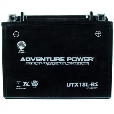 Adventure Power UTX18L-BS (Y50-N18L-A) (12V, 18AH) Motorcycle Battery
