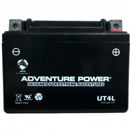2007 Yamaha TT-R 125 E, TT-R125EW Sealed Battery