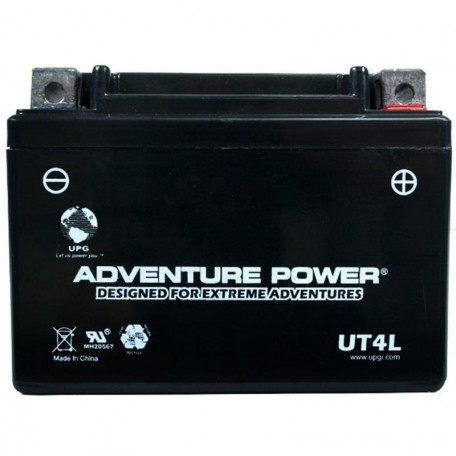 Adventure Power UT4L-BS (YTX4L-BS) (12V, 3AH) Motorcycle Battery