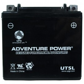 Adventure Power UT5L (YTX5L-BS) (12V, 4AH) Motorcycle Battery