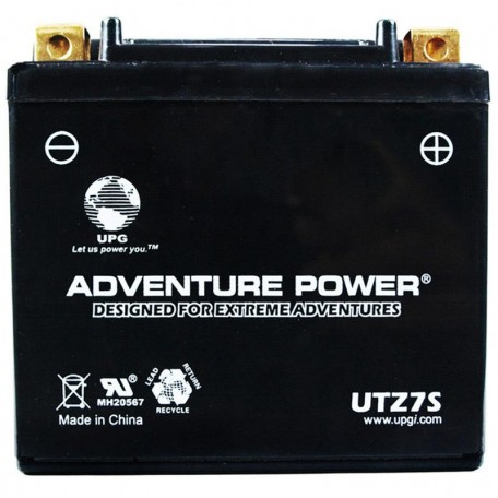 Adventure Power UTZ7S (YTZ7S) (12V, 6AH) Motorcycle Battery