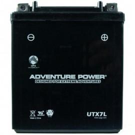 1996 Yamaha XT 225 Serow XT225H Sealed Battery