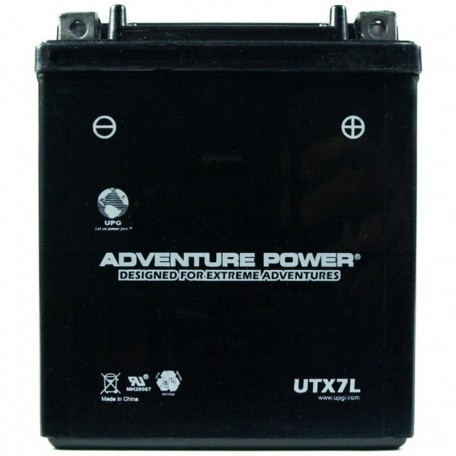 Adventure Power UTX7L (YTX7L-BS) (12V, 6AH) Motorcycle Battery