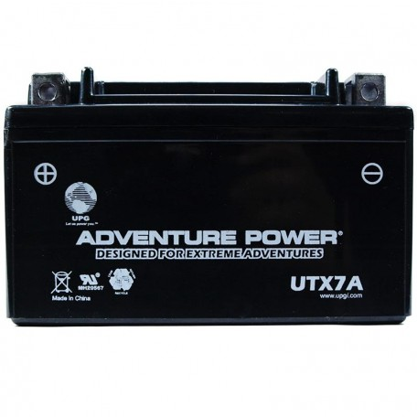 Adventure Power UTX7A (YTX7A-BS) (12V, 6AH) Motorcycle Battery