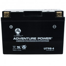 Adventure Power UT9B-4 (YT9B-BS) (12V, 8AH) Motorcycle Battery
