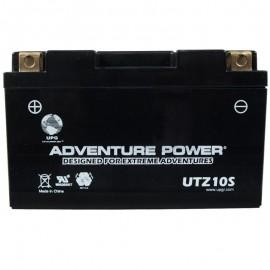 Adventure Power UTZ10S (YTZ10S) (12V, 8.6AH) Motorcycle Battery
