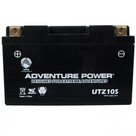 Adventure Power UTZ10S (YTZ10S) (12V, 8.6AH) Motorcycle Battery