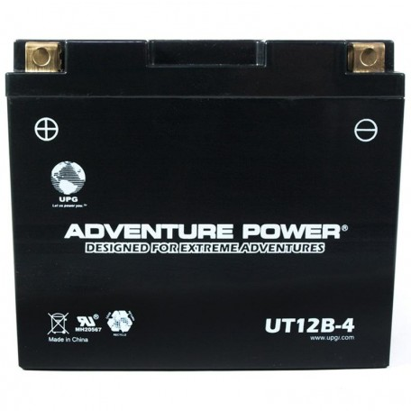 Yamaha XVS650 V-Star (All) Replacement Battery (1998-2009)
