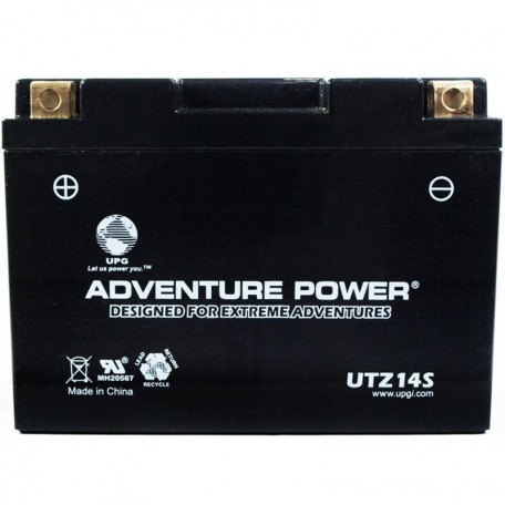 Adventure Power UTZ14S (YTZ14S) (12V, 11.2AH) Motorcycle Battery