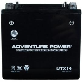 2004 Honda TRX500FGA TRX 500 FGA Foreman Rubicon GPS ATV Battery Sld