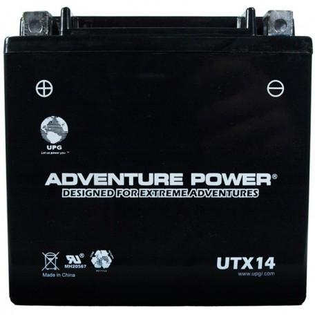 Kawasaki ZX-14, ZX14 Ninja Battery 2006, 2007, 2008, 2009, 2010, 2011