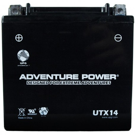 Yamaha BTY-YTX14-BS-00 Sealed ATV Replacement Battery