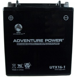 Adventure Power UTX16-1 (YTX16-BS-1) (12V, 14AH) Motorcycle Battery