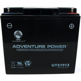 Adventure Power UT51913 (12V, 18AH) Motorcycle Battery
