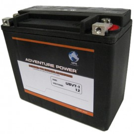 UBVT-1 Motorcycle Battery replaces 65989-90B for Harley