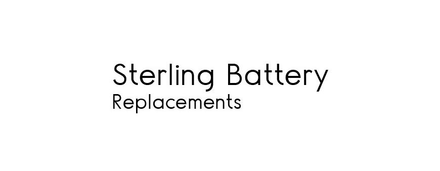 UPS Batteries to replace Sterling Battery