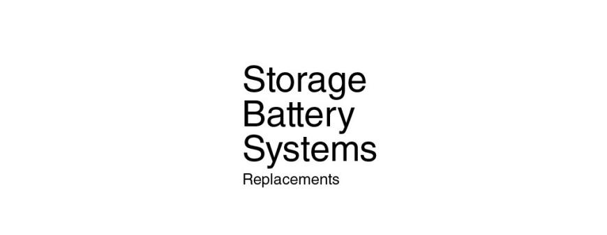 UPS Batteries to replace SBS Storage Battery Systems