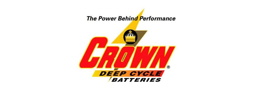 Crown Deep Cycle Solar Batteries Wet